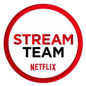 We're thrilled to be part of the Netflix #StreamTeam this year!