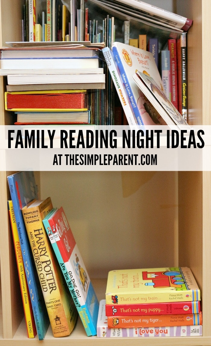 Keep reading fun and prevent the summer slide with easy family reading night ideas!