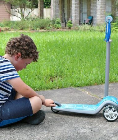Play fun scooter games and get outside with your kids!