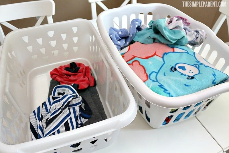 Easy ideas for laundry rooms can make the whole chore of laundry easier for your family!