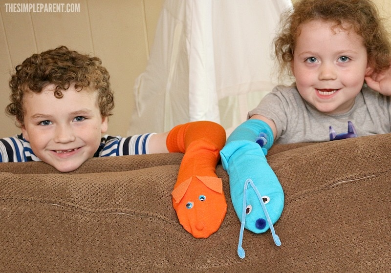 Get creative with sock puppet ideas inspired by your favorite Netflix kids shows!
