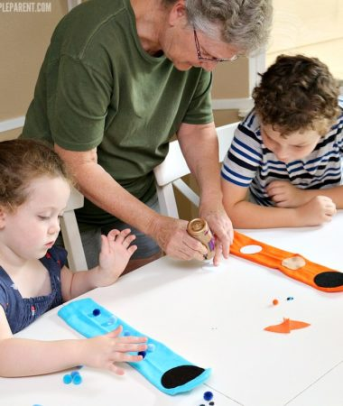 Have fun with the family making a sock puppets craft activity!