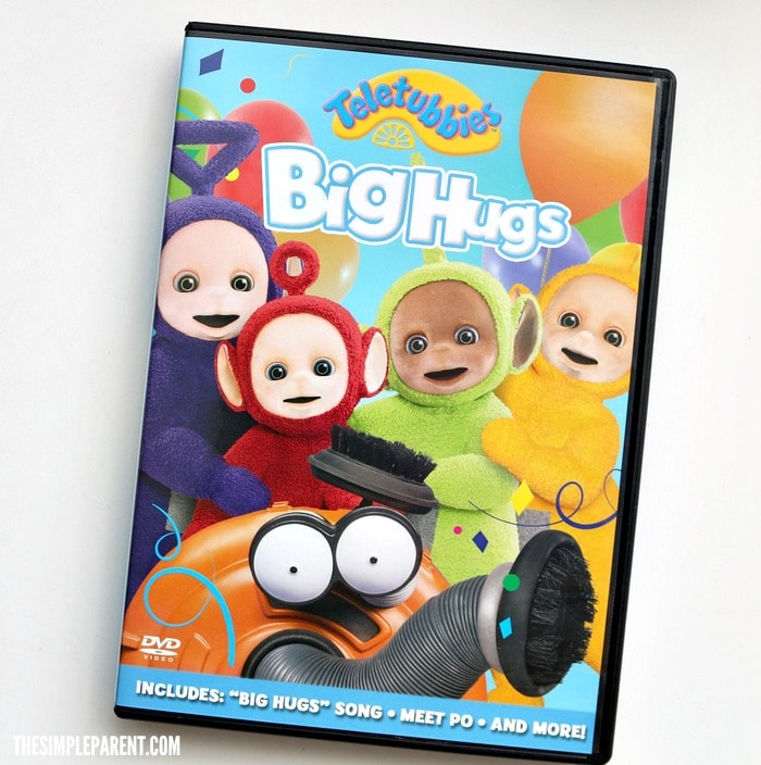 Talking Telletubbies Dolls are a hit with the Teletubbies Big Hugs DVD!