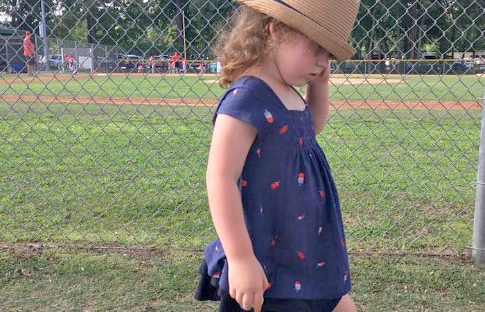 The Beauty of Letting a Three Year Old Dress Herself