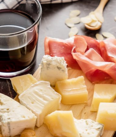 Wine and cheese is one of the easiest girls night in ideas to plan!