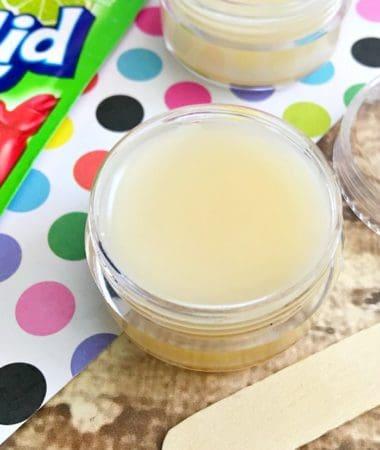 Try making this homemade lip gloss kids love to customize!
