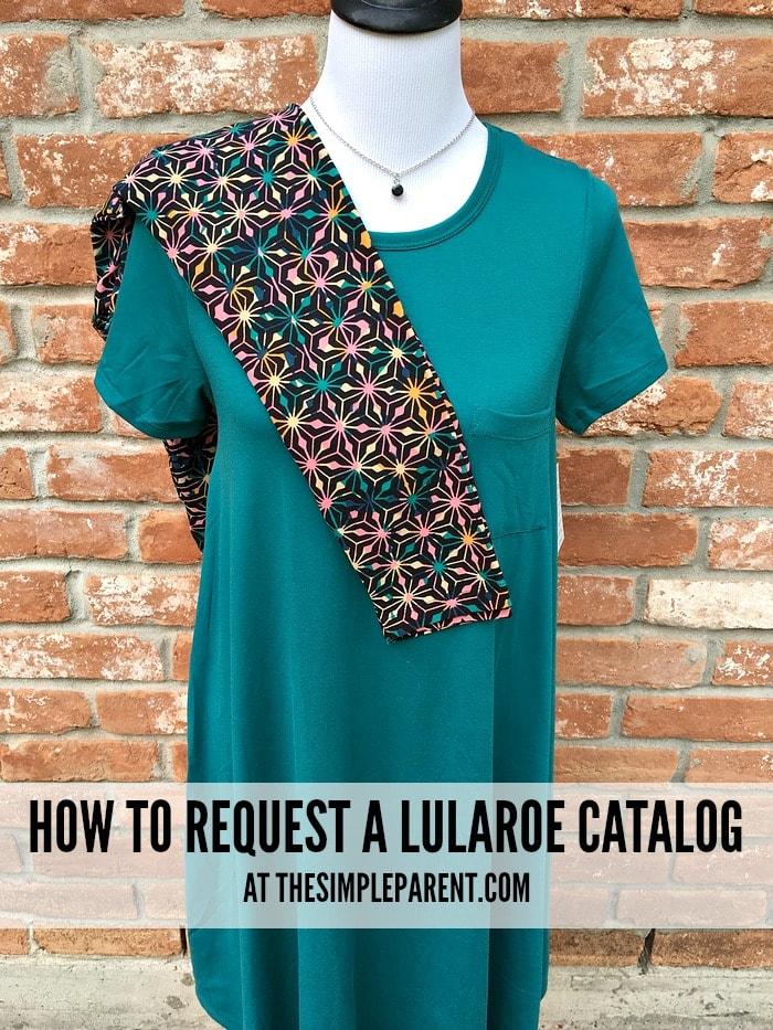 Request a LuLaRoe catalog online!