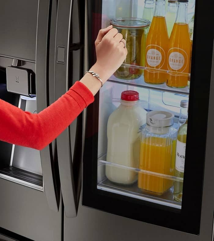 Check out how the new LG InstaView Refrigerator at Best Buy is a great family friendly option!