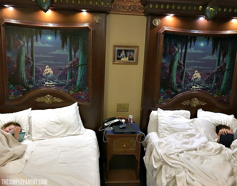 A Disney Port Orleans Royal Guest Room is a magical way to spend a Disney vacation!
