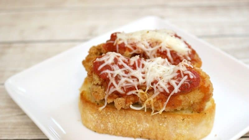 Easy Chicken Parmesan Sandwich Recipe & Other Quick Meal Ideas