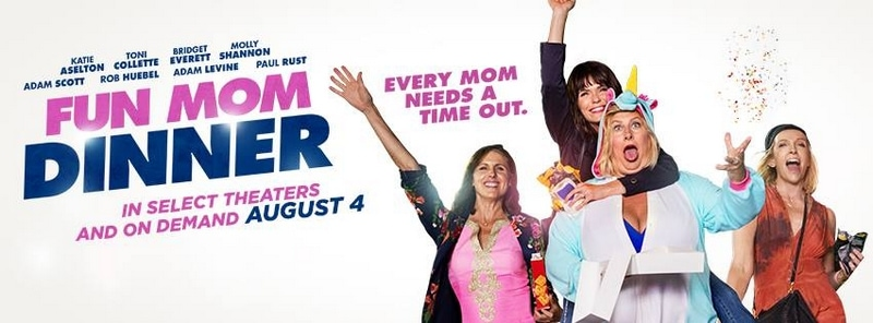 Check out Fun Mom Dinner movie and enter to win supplies for your own Fun Mom Dinner!