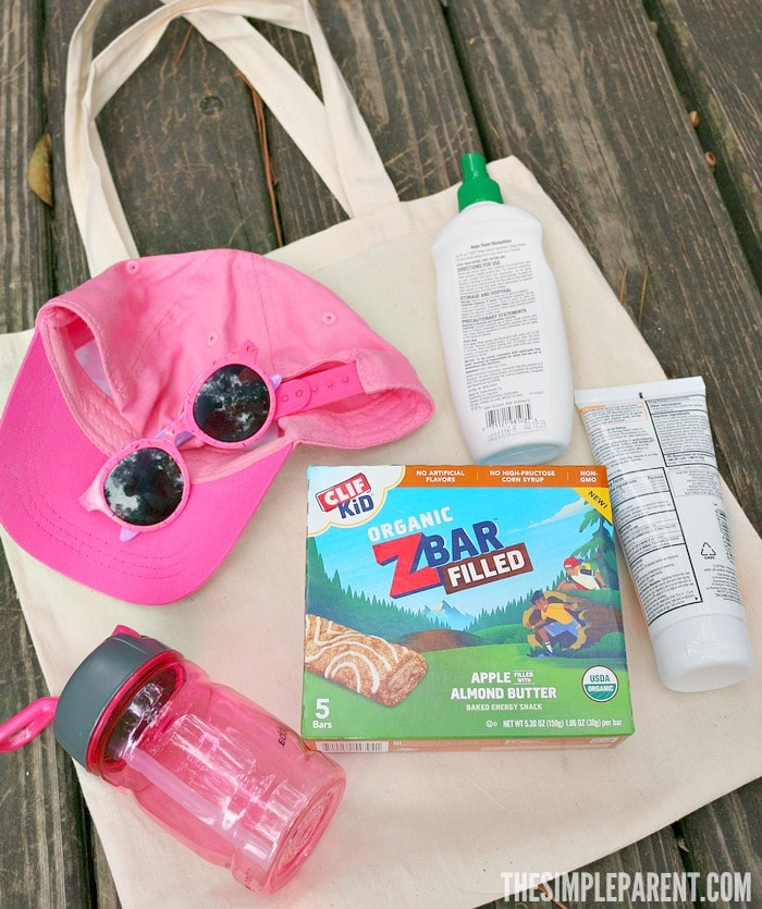 Encourage your kids to play outside and take this mom must haves bag for the playground with you!