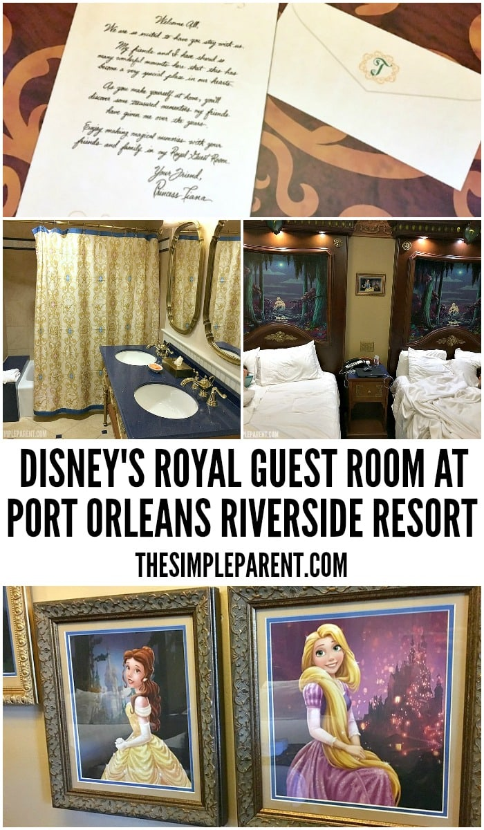 Check out the Port Orleans Royal Rooms on your next Disney World vacation!