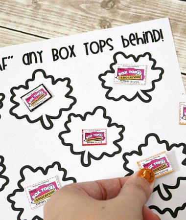 Print this fall Box Top collection sheet and help out your child's school!