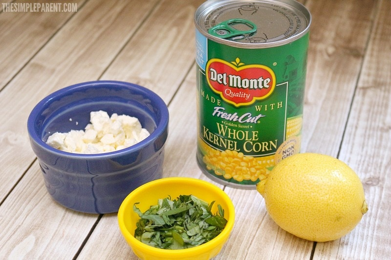 You can make this easy canned corn salad recipe with a few simple ingredients!
