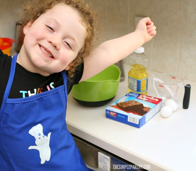 Pillsbury makes it easy to celebrate and make easy brownie pops!