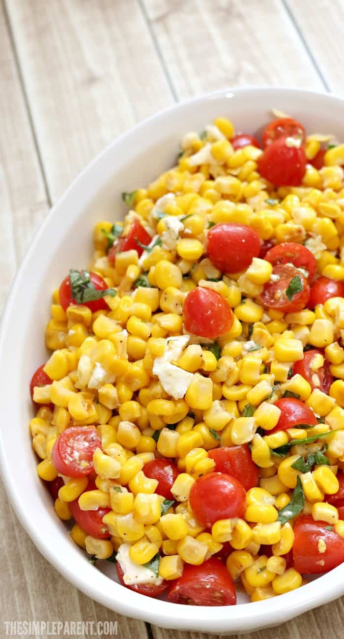 Make easy corn salad to take to your next get-together! It's so simple to prepare and is a crowd favorite!