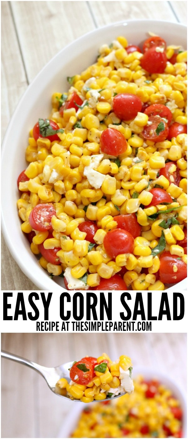 Make this easy corn salad for your next get together!