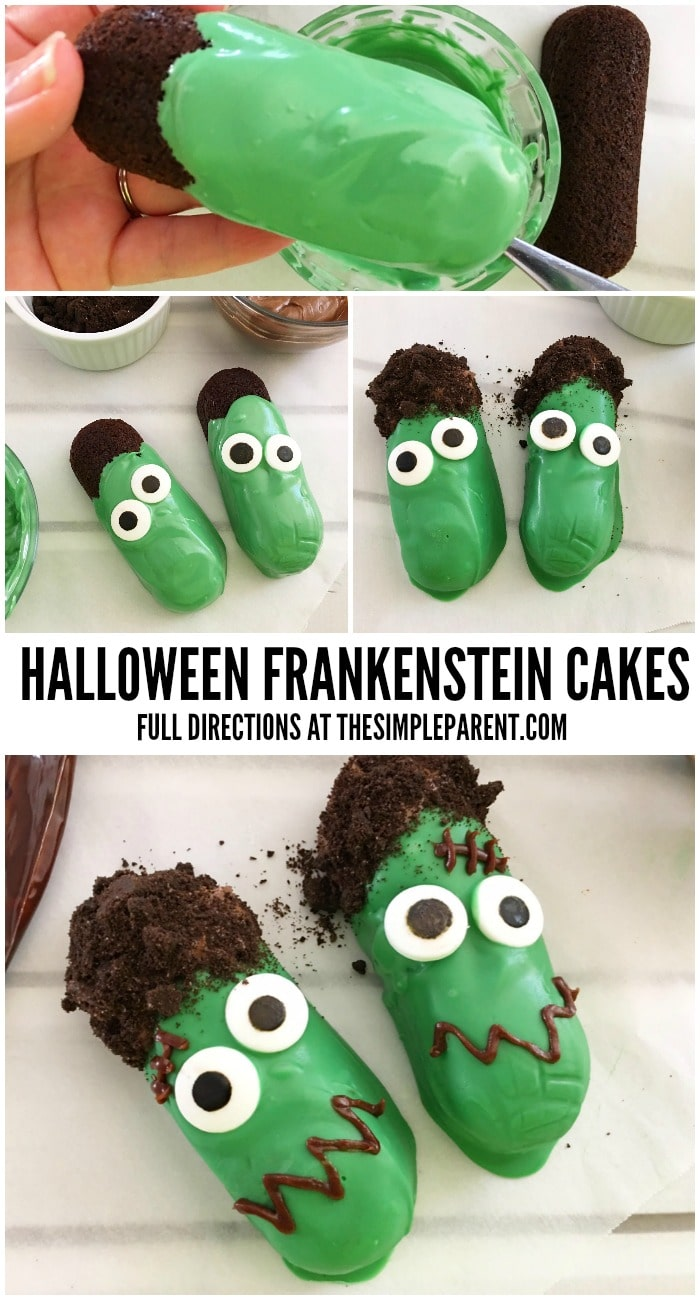 Celebrate with these fun Frankenstein Halloween treats with your family!