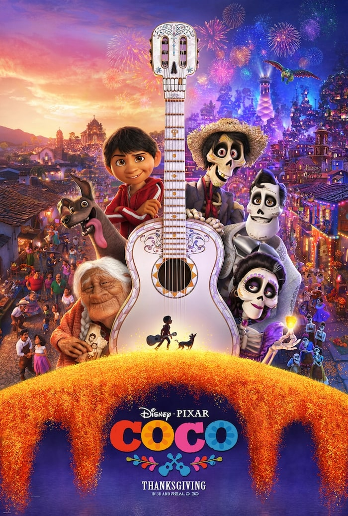 Download free Disney coloring pages before you see Disney-Pixar's Coco!