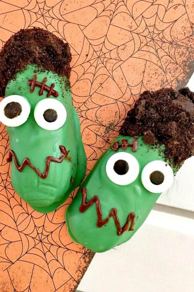Halloween Frankenstein Cakes to Make Snack Time Spooky!
