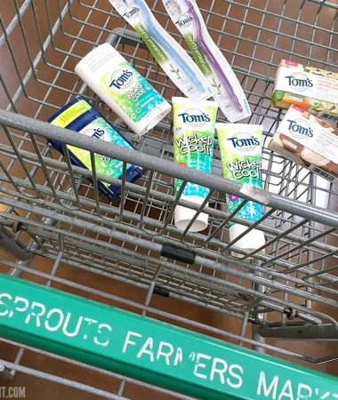 Stock up on kid friendly deodorant at Sprouts! They're teaming up with Tom's of Maine to give back to schools!