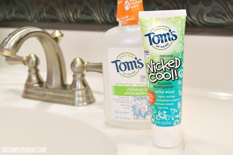 Kid friendly deodorant and oral care products from Tom's of Maine are a great way to stock up while giving back!