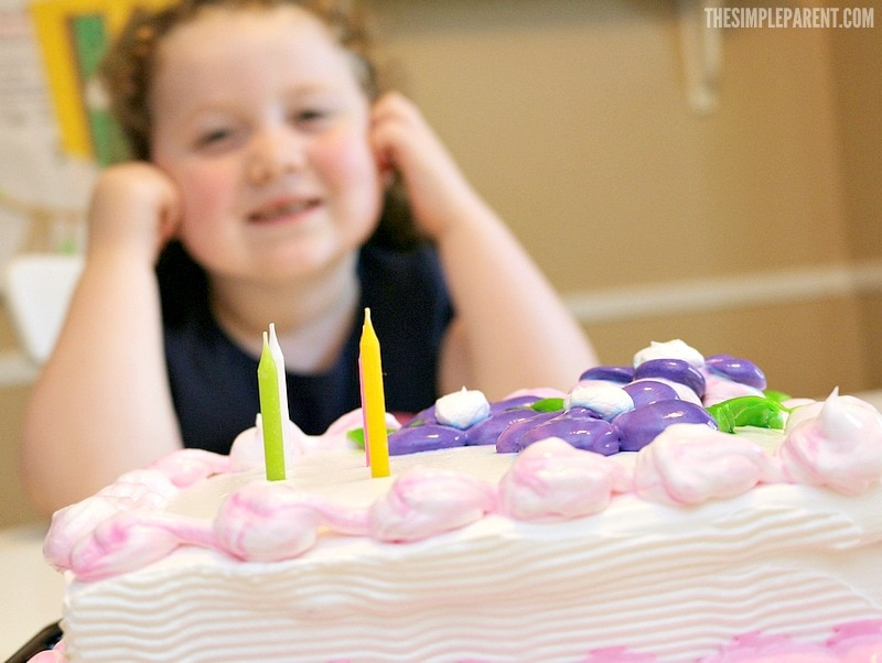 Celebrate with cake and a free kids birthday countdown printable!