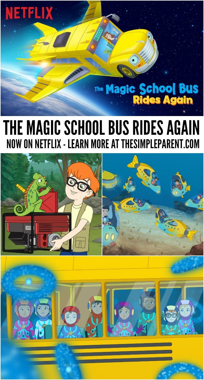 Watch Magic School Bus episodes online with the new Netflix Original The Magic School Bus Rides Again!