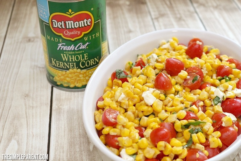 Try this easy sauteed corn recipe and make a delicious and easy corn salad for your family!