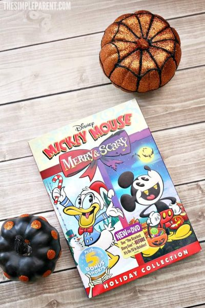 Mickey Mouse: Merry & Scary DVD is now available in time for the holidays!