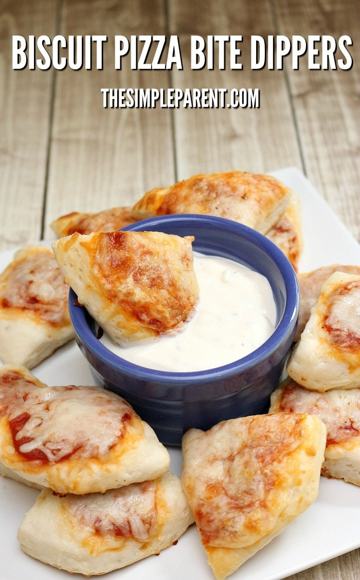 Try this easy Biscuit Pizza Bites recipe for a family friendly meal!