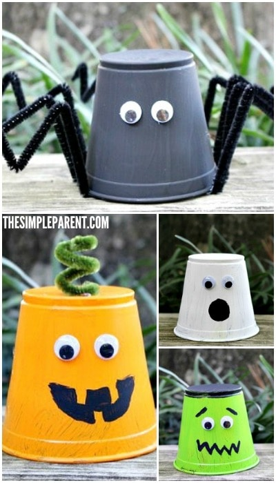Kids Halloween Craft ideas can be fun for the whole family!