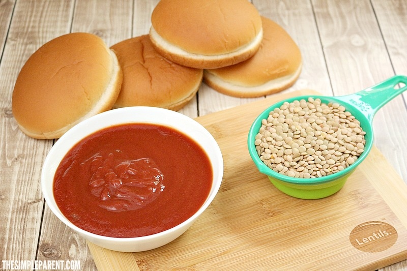 Check out what you need to make our easy meatless Sloppy Joe recipe!