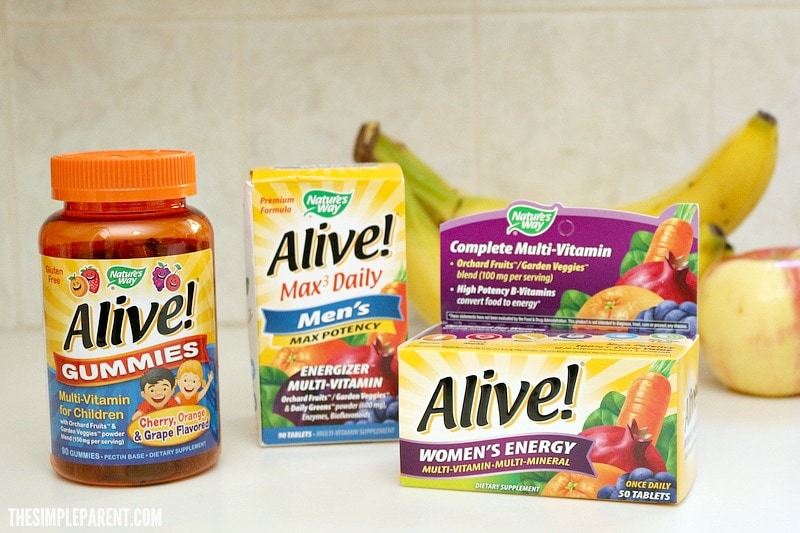 Vitamins are a staple on our medicine cabinet must haves checklist!