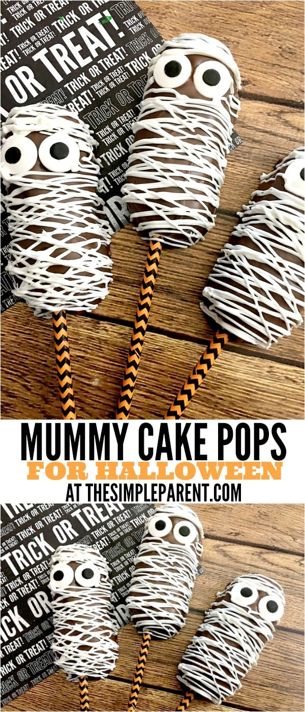 Turn your snack cakes into Mummy Snack Cakes for Halloween!