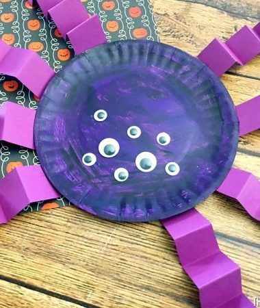 Paper Plate Spider Crafts are great to make with kids!