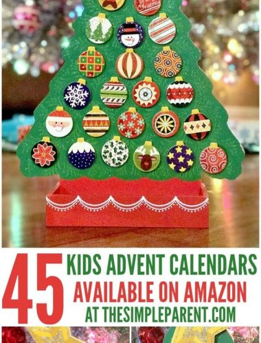 Find the best Amazon Advent Calendars for your kids this year!
