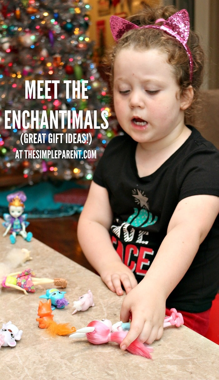 Meet the Enchantimals dolls!