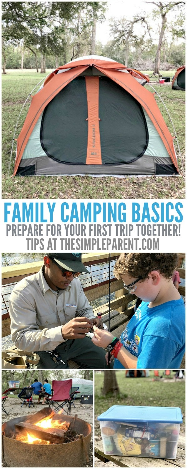 Follow this family camping checklist and prepare to take your family out into nature!