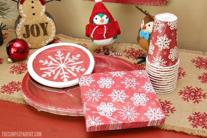 Check out these holiday party supplies for your home that you might overlook!