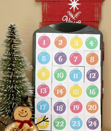 Get inspired with homemade advent calendar ideas and a free printable!