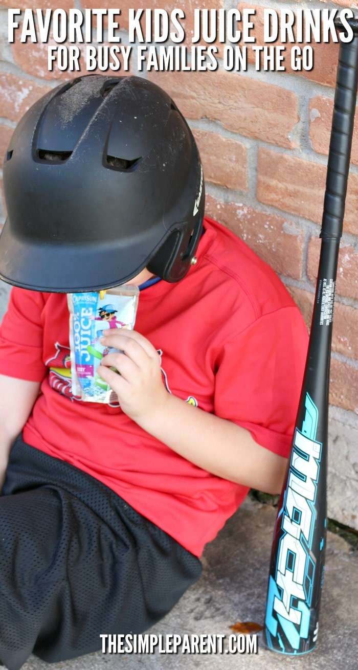 Capri Sun offer some of our favorite kids juice drinks for our busy life!