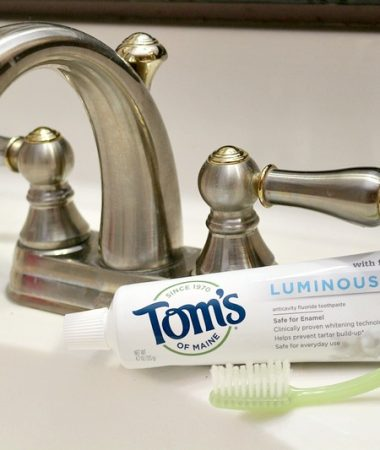 You can pick up Tom's of Maine Luminous White Toothepaste and more at Sprouts Farmer Markets!
