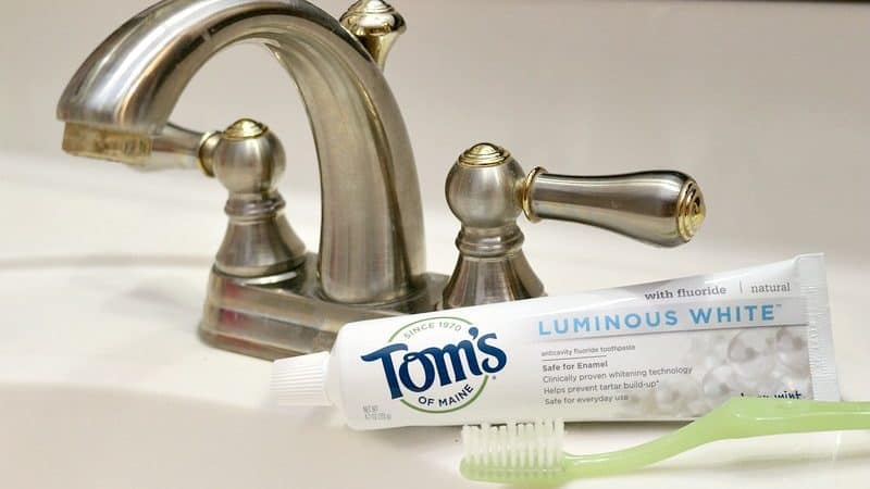 Tom's of Maine Luminous White Toothpaste at Sprouts Farmers Market