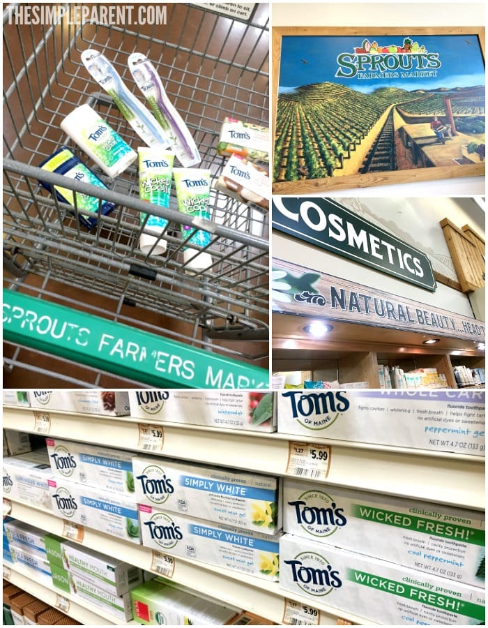 You can pick up Tom's of Maine Luminous White Toothpaste and more at Sprouts Farmer Markets!