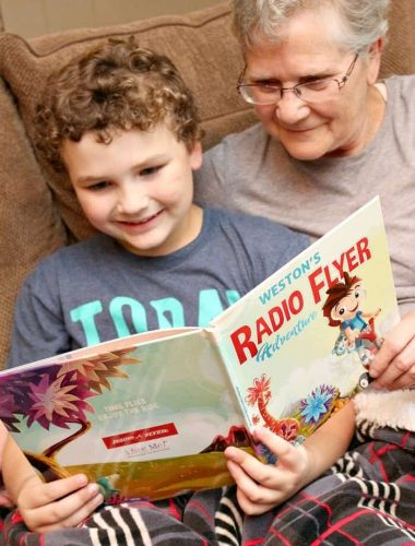 Personalized kids book can inspire a love of reading and adventure in our kids!