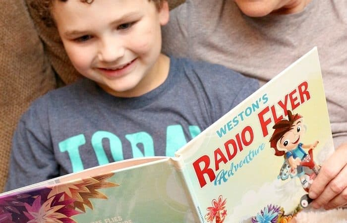 Radio Flyer Personalized Kids Books & 25 Days of Holiday Giveaways