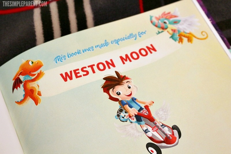 Personalized kids books can inspire a love of reading and adventure in our kids!