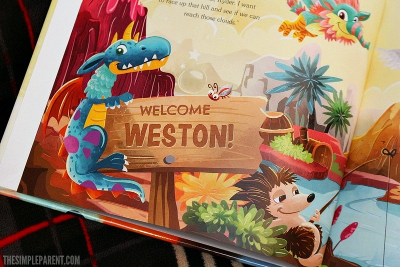 Personalized kids story books can inspire a love of reading and adventure in our kids!